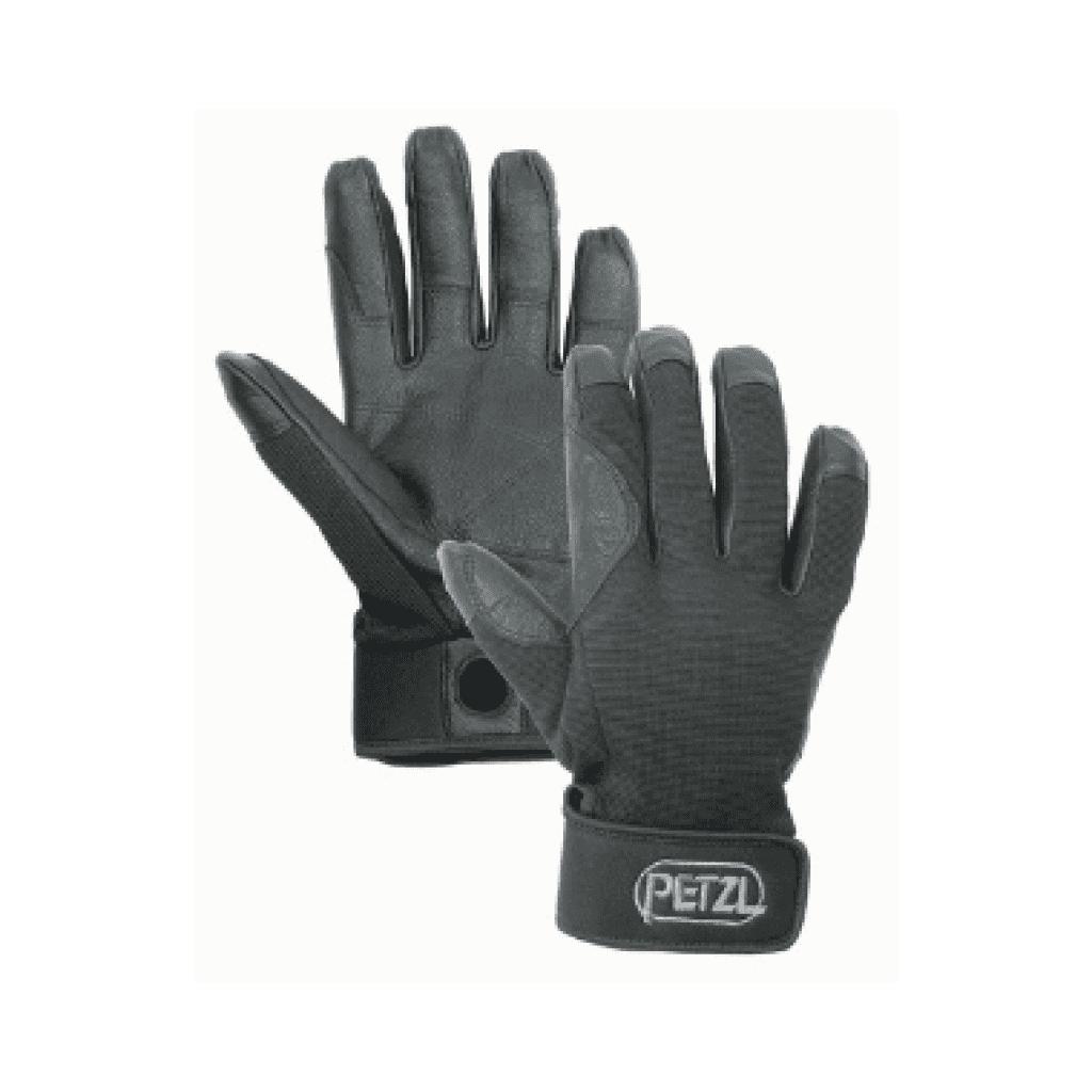guantes para rapelar petzl cordex