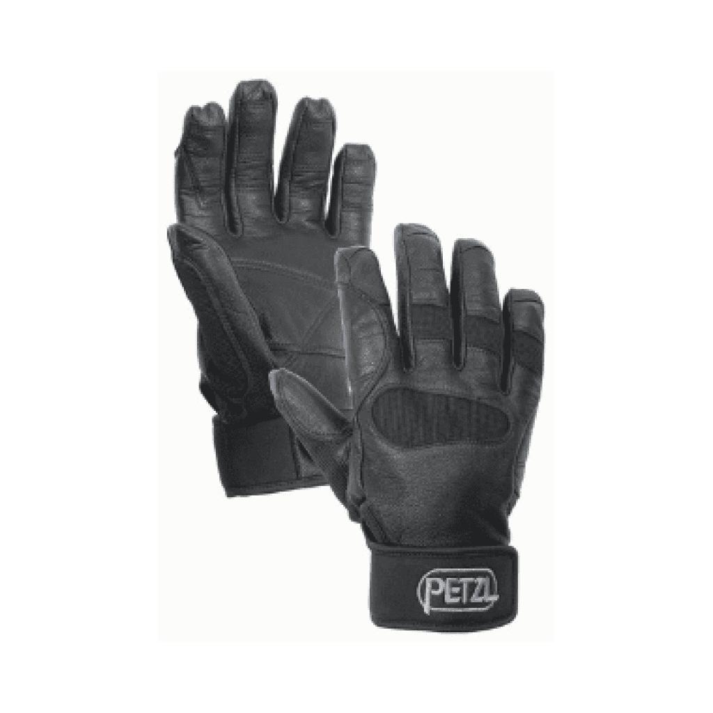 guantes para rapelar petzl cordex plus